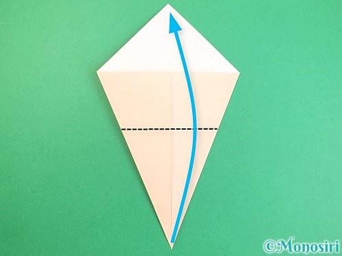 折り紙で立体的な猫の折り方手順5