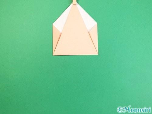 折り紙で立体的な猫の折り方手順8