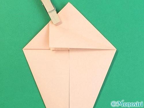 折り紙で立体的な猫の折り方手順30