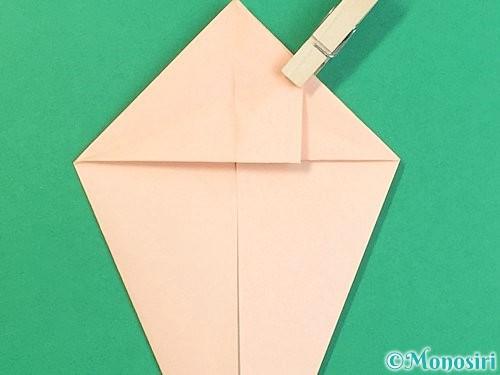 折り紙で立体的な猫の折り方手順31