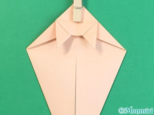 折り紙で立体的な猫の折り方手順39