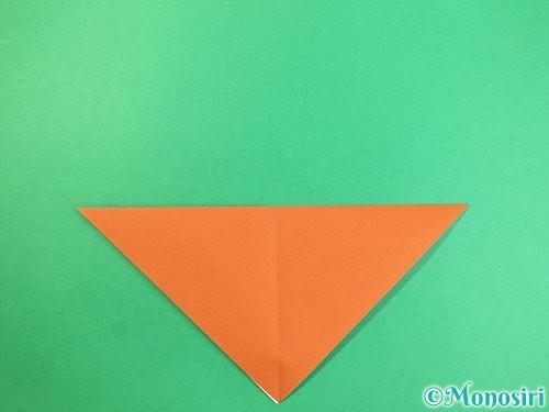 折り紙で犬の折り方手順4