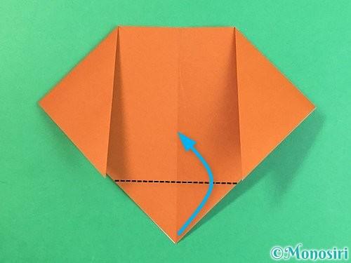 折り紙で犬の折り方手順7