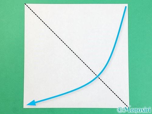 折り紙で犬の折り方手順10