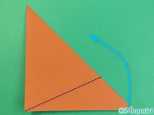 折り紙で犬の折り方手順12