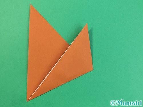 折り紙で犬の折り方手順13