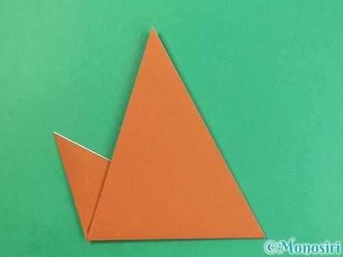 折り紙で犬の折り方手順14