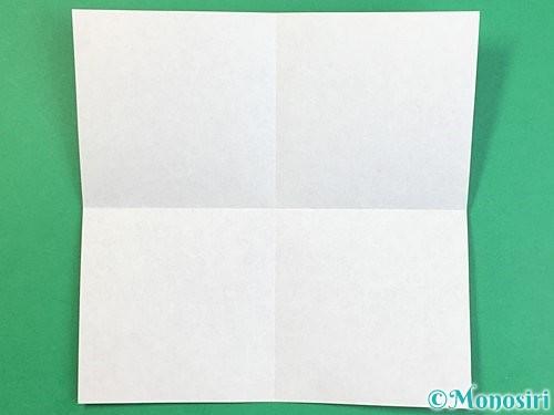 折り紙で立体的な犬の折り方手順2