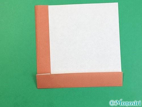 折り紙で立体的な犬の折り方手順7