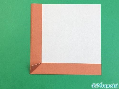折り紙で立体的な犬の折り方手順9