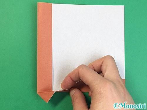 折り紙で立体的な犬の折り方手順10