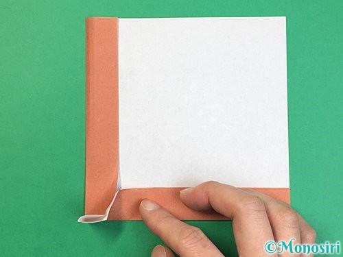 折り紙で立体的な犬の折り方手順12