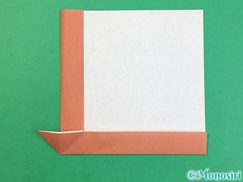 折り紙で立体的な犬の折り方手順13