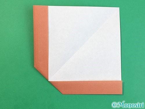 折り紙で立体的な犬の折り方手順17