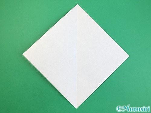 折り紙で立体的な犬の折り方手順21