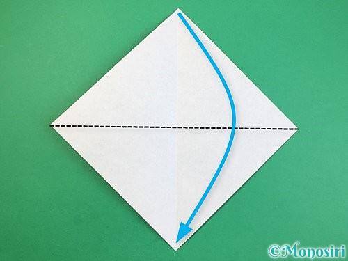 折り紙で立体的な犬の折り方手順22