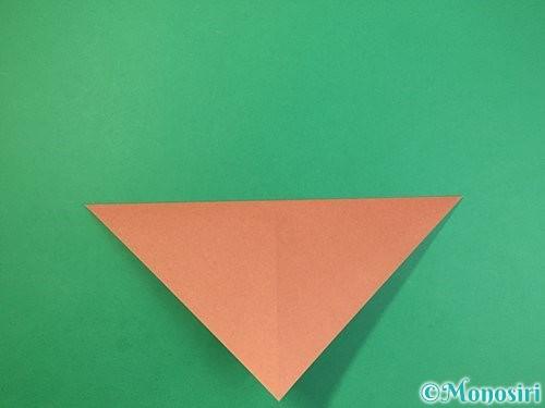 折り紙で立体的な犬の折り方手順23