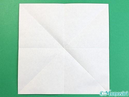 折り紙で立体的な犬の折り方手順4