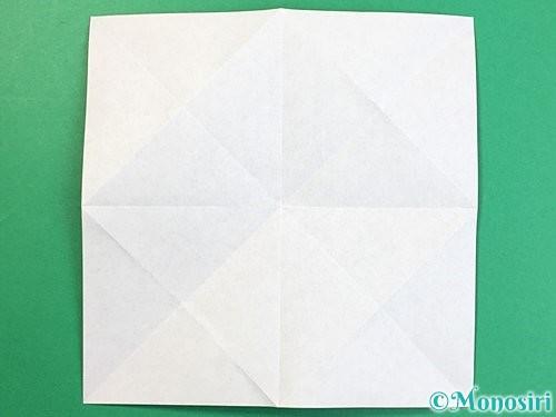 折り紙で立体的な犬の折り方手順8