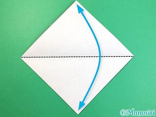 折り紙で立体的な犬の折り方手順48