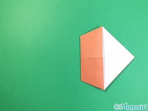 折り紙で立体的な犬の折り方手順53