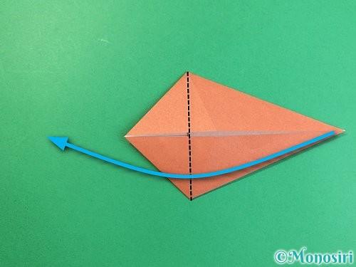 折り紙で立体的な犬の折り方手順59