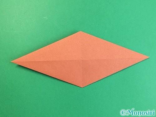 折り紙で立体的な犬の折り方手順60
