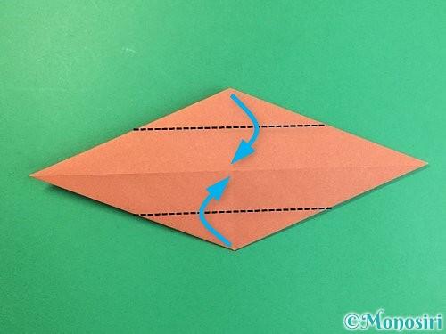 折り紙で立体的な犬の折り方手順61