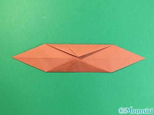 折り紙で立体的な犬の折り方手順62
