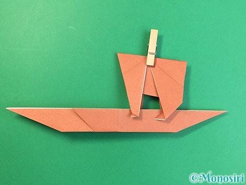 折り紙で立体的な犬の折り方手順66
