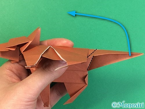 折り紙で立体的な犬の折り方手順100