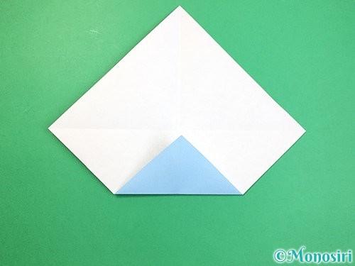 折り紙でねずみの折り方手順4