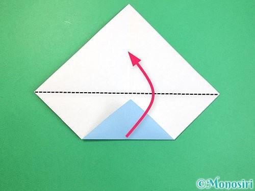 折り紙でねずみの折り方手順5