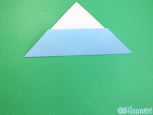 折り紙でねずみの折り方手順6