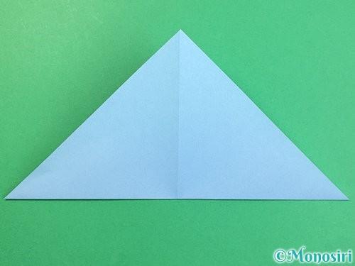 折り紙でねずみの折り方手順7