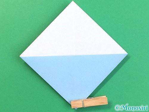 折り紙でねずみの折り方手順10