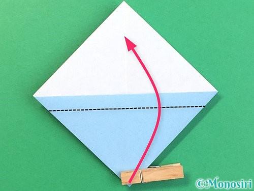 折り紙でねずみの折り方手順11