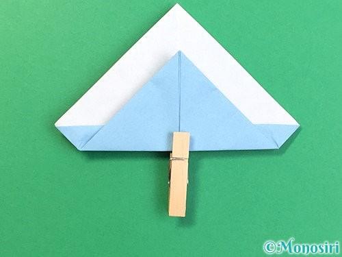 折り紙でねずみの折り方手順12