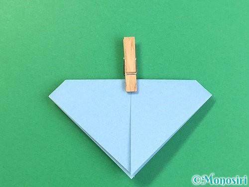 折り紙でねずみの折り方手順13