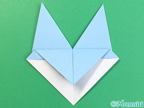 折り紙でねずみの折り方手順16