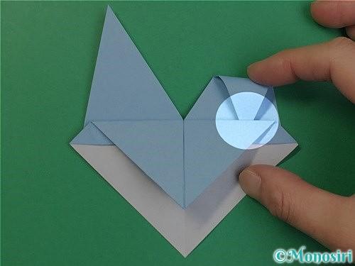 折り紙でねずみの折り方手順18