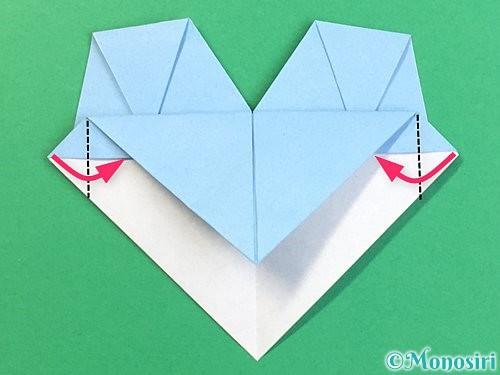 折り紙でねずみの折り方手順20