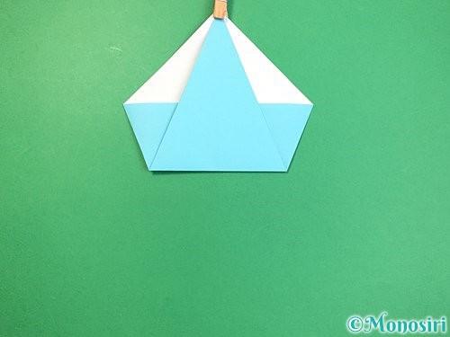 折り紙で立体的なネズミの折り方手順6