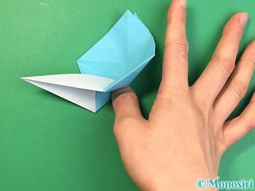 折り紙で立体的なネズミの折り方手順40