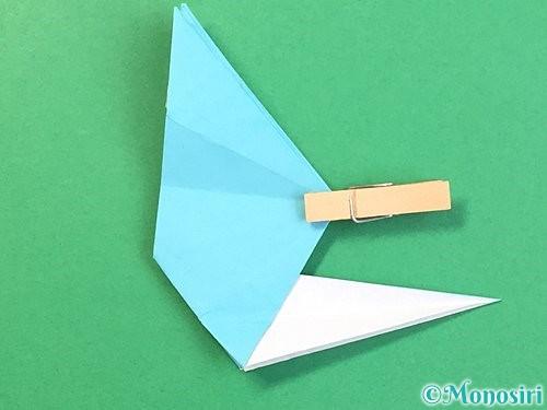 折り紙で立体的なネズミの折り方手順50