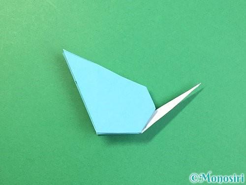 折り紙で立体的なネズミの折り方手順66