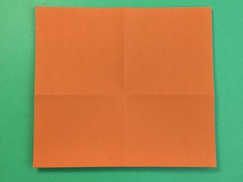 折り紙で牛の折り方手順8
