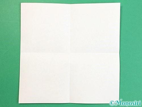 折り紙で立体的な牛の折り方手順2