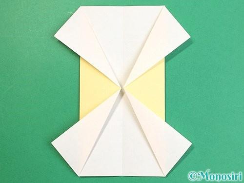 折り紙で立体的な牛の折り方手順6