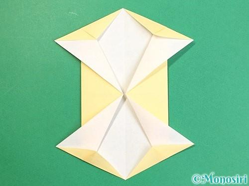 折り紙で立体的な牛の折り方手順8